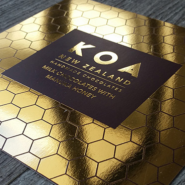 Pinc foil printing specialists design print studio silverdale foil printed business cards nz reheart Gallery