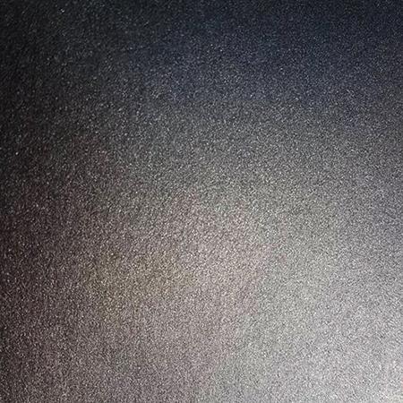 Close up of black metallic card