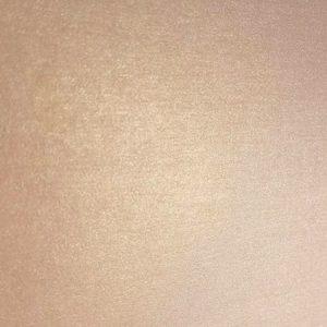 Close up of rose gold metallic