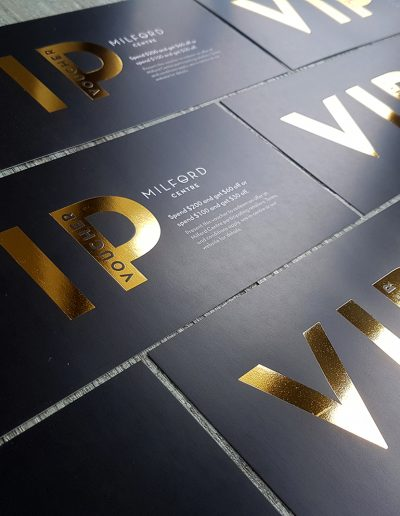 New Zealand made VIP gift vouchers
