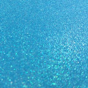 Blue A4 glitter card