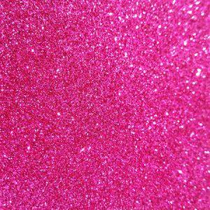 Pink A4 glitter card