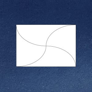 Coloured C6 butterfly envelope