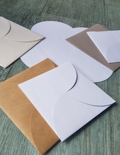butterfly petal fold envelopes