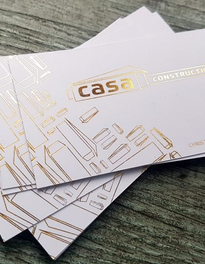 Casa Construction cards