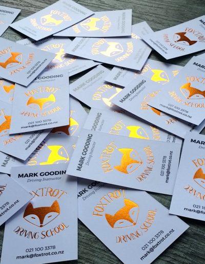 copper foil cards