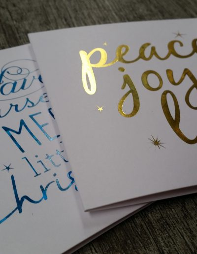 Christmas cards designed by Pinc