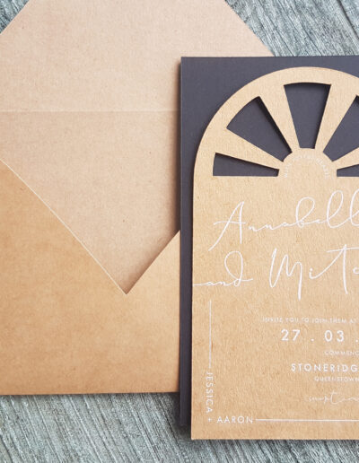arch top invitations new zealand