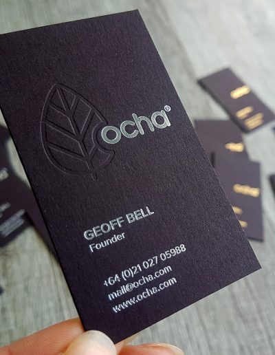 Stand out premium quality New Zealand business cards