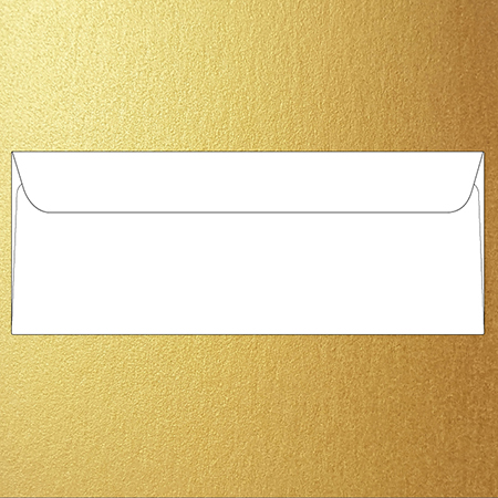 Metallic barely legal 12 x 31 cm envelopes