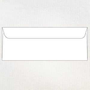 Textured barely legal 12 x 31 cm envelopes