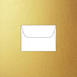 Metallic C7 8.5 x 11.5 cm envelopes