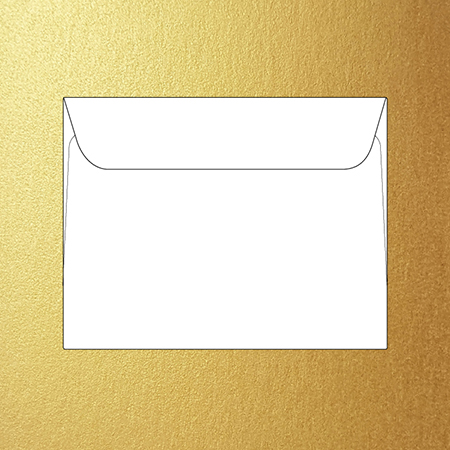 Metallic metro 140 x 180 mm envelopes