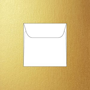 Metallic 12 cm square envelopes