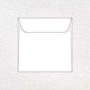 Textured 15 cm square envelopes