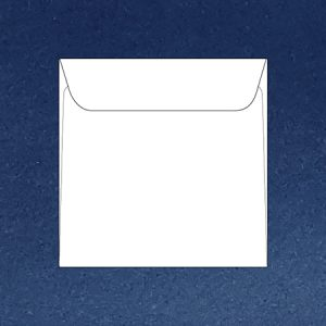 Coloured 16 cm square envelopes