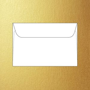 Metallic stubbie 12 x 18 cm envelopes