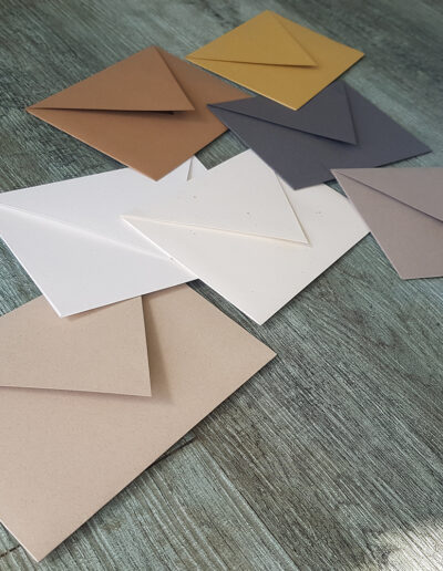 Evergreen Environment recycled envelopes