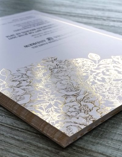 Auckland wedding invitation print studio