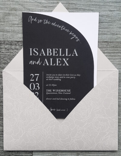 customised envelopes made in new zealand
