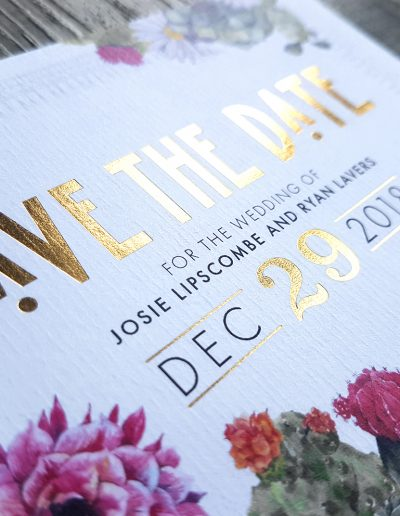 New Zealand Save The Date cards