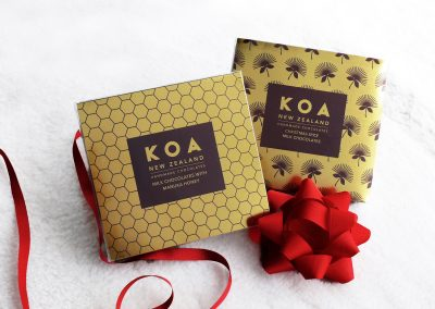 Foil packaging designed and printed in NZ