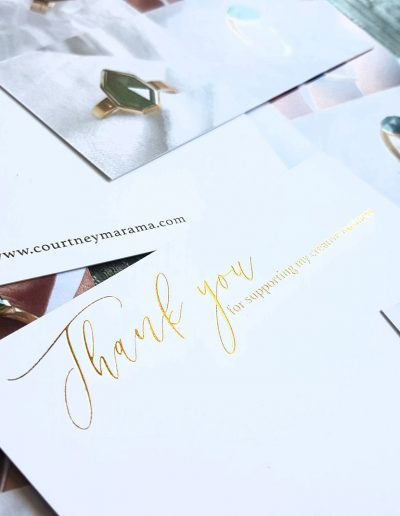 Business thank you card printer NZ