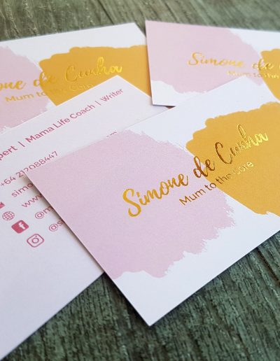 Cards designed by Pinc