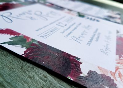 Graphic designers specialising in wedding invitations