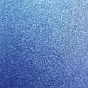 Sapphire blue metallic A4 card