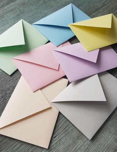 Trophee pastel range of paper stocks
