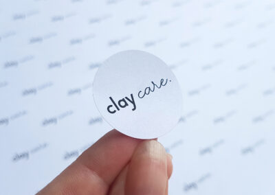 eco friendly stickers, made from recycled fibres