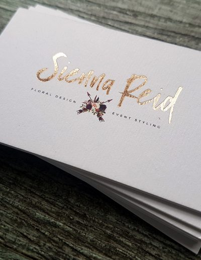 Sienna Reid Floral Design & Event Styling cards