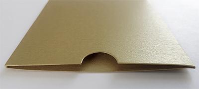 antique gold metallic sleeve, New Zealand made