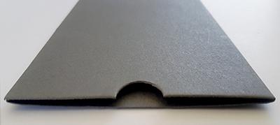 Charcoal sleeve, NZ made