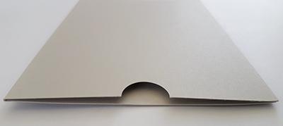 Pebble grey sleeve, New Zealand made
