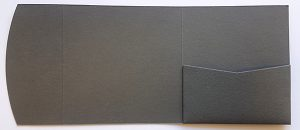 Business presentation folders, pocketfold envelopes for invitations