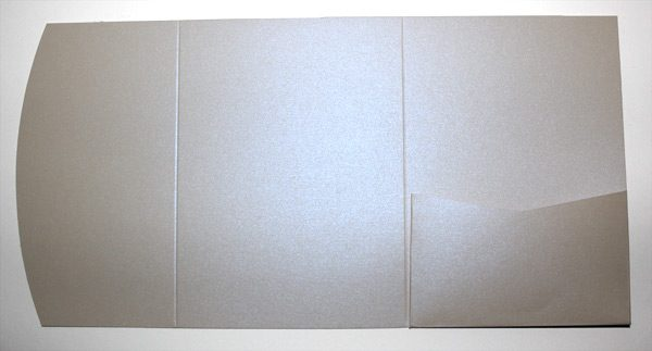 Virtual Pearl A6 pocketfold envelope